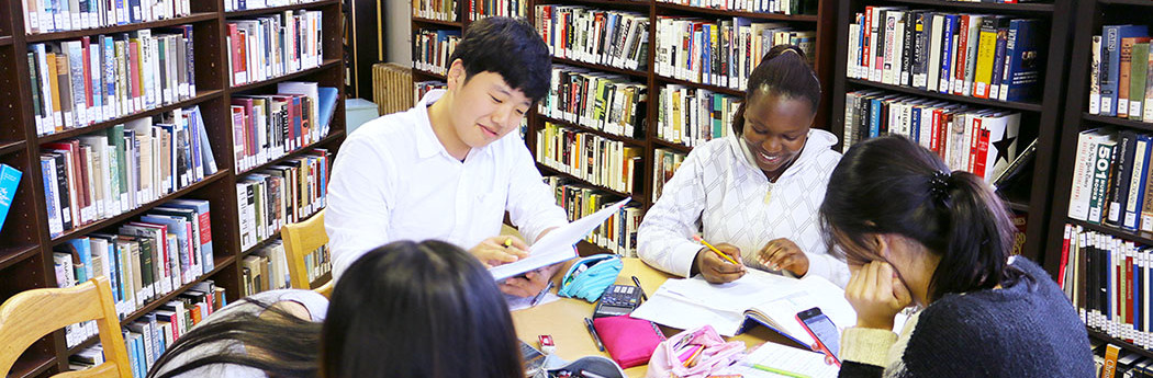 Private Boarding School, Library, International Students, Study